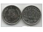 Belize 10 cents 2000. UNC