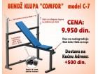 Bendž Klupa COMFOR C-7