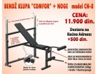 Bendž Klupa COMFOR CN-8