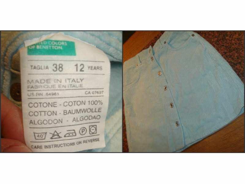 Benetton predivna suknja!