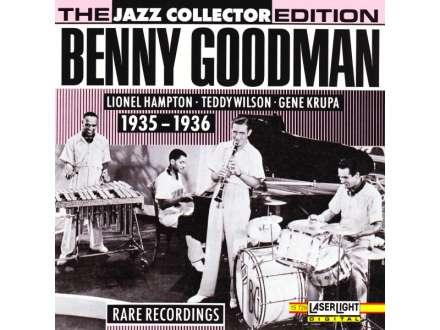 Benny Goodman, Lionel Hampton, Teddy Wilson, Gene Krupa - Benny Goodman 1935 - 1936 Rare Recordings