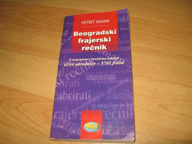 Beogradski frajerski recnik