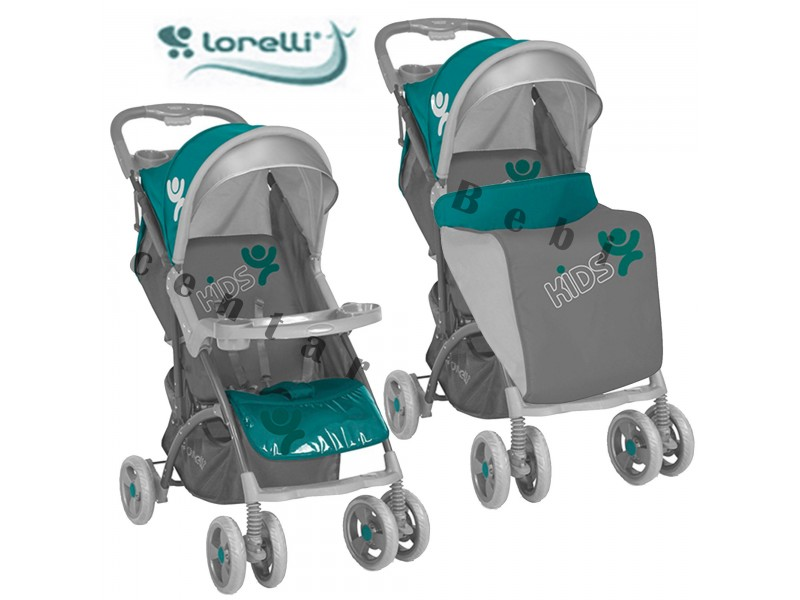 Bertoni Lorelli kolica za decu Smarty + Green Grey Kids