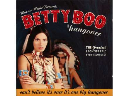Betty Boo - Hangover CD-SINGL