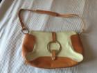 Bež-braon kožna torba