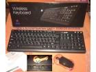 Bežična tastatura i miš +POKLON