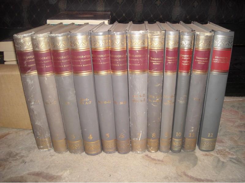 Bibliografija,rasprava,clanaka i knjizevnih radova 1-12