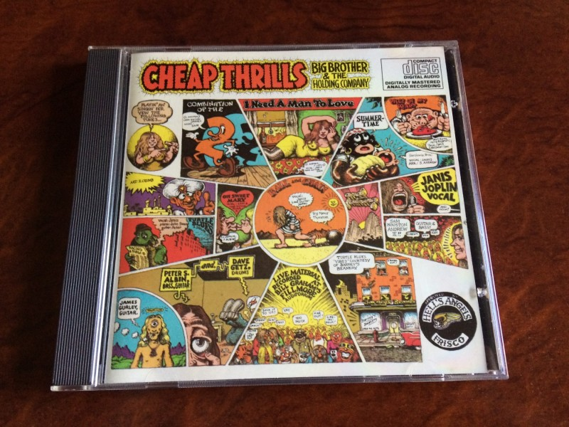 Big Brother &;; The Holding Company ‎– Cheap Thrills