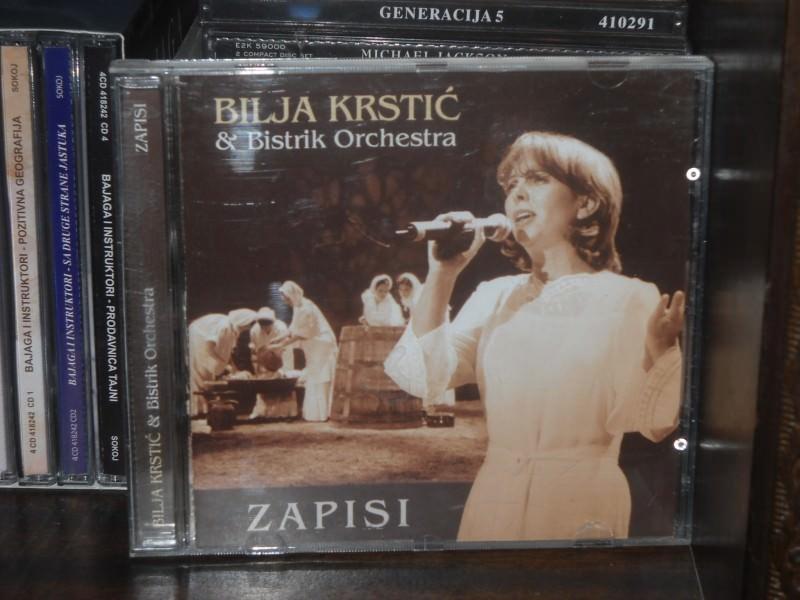 Bilja Krstić & Bistrik Orchestra - Zapisi