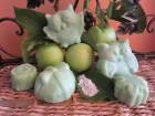 Biljni sapun zelena glina - zelena jabuka