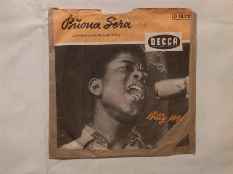Billy Mo - Buona Sera / Oh, Marie