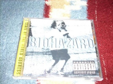 Biohazard-State Of The World Address CD