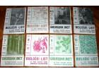 Biološki list, 9 brojeva 1967/1968.