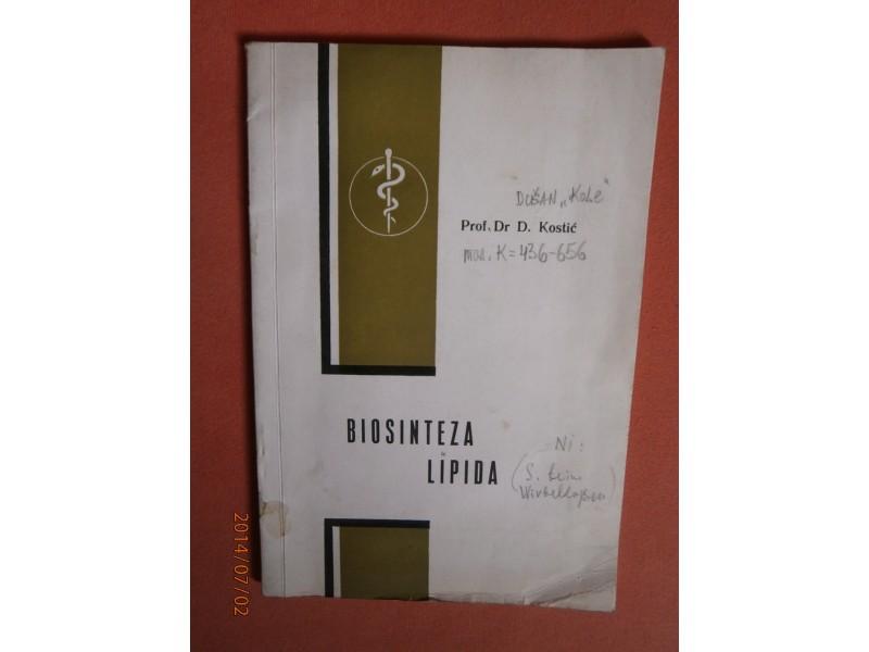 Biosinteza lipida, Dusan Kostic