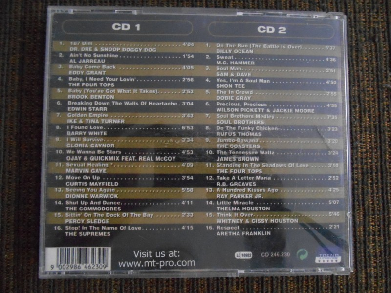 Black hits - 2 CD, kompilacija od 32 hita