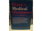 Black`s Medical Dictionary-William A.R. Thomson