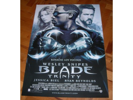 Blade: Trinity, filmski plakat