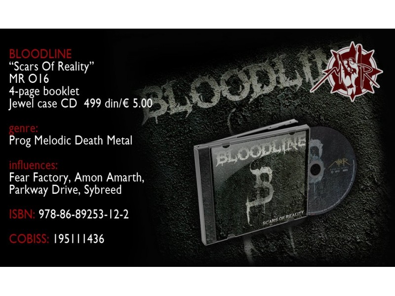 Bloodline - Scars Of Reality