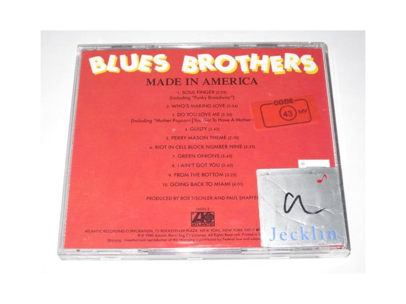 Blues Brothers, The – Made In America (CD)