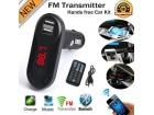 Bluetooth Wireless FM Transmitter MP3