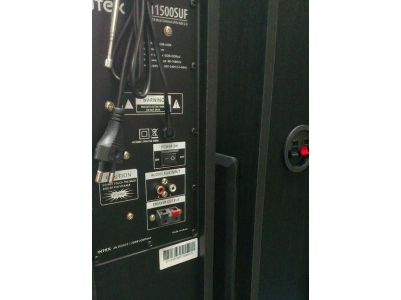 Bluetooth Zvučnici Intex IT-11500BT 2.0 drvene kutije