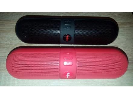 Bluetooth zvucnik-bezicni bluetooth zvucnik MP3,FM pink