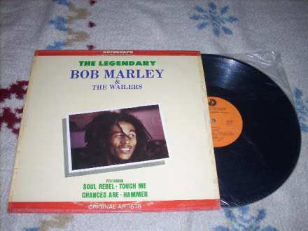 Bob Marley-The Legendary Bob Marley And The Wailers LP