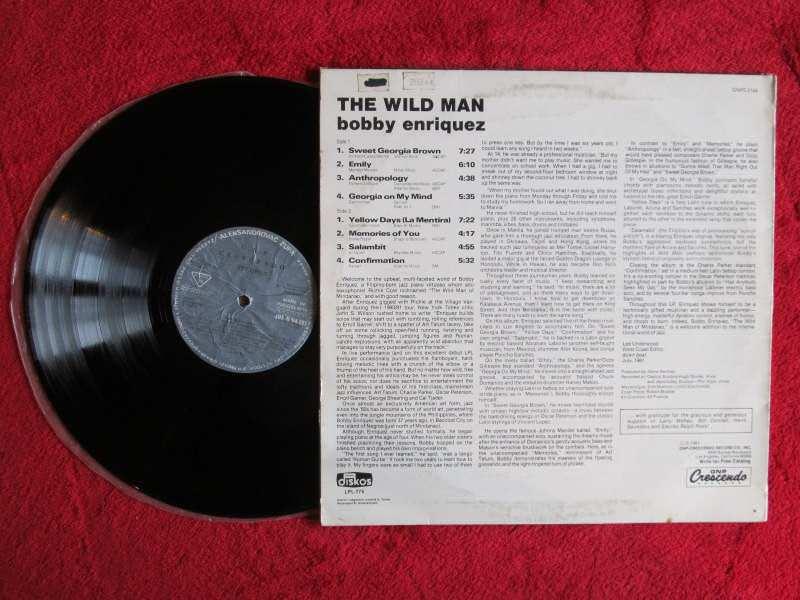 Bobby Enriquez - The Wild Man