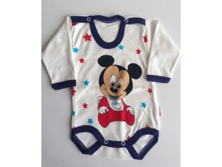 Bodi za bebe Mickey Mouse na bretele,Vel-62