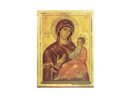 Bogorodica `Svih radost` (m.Pantokrator, Sveta Gora)