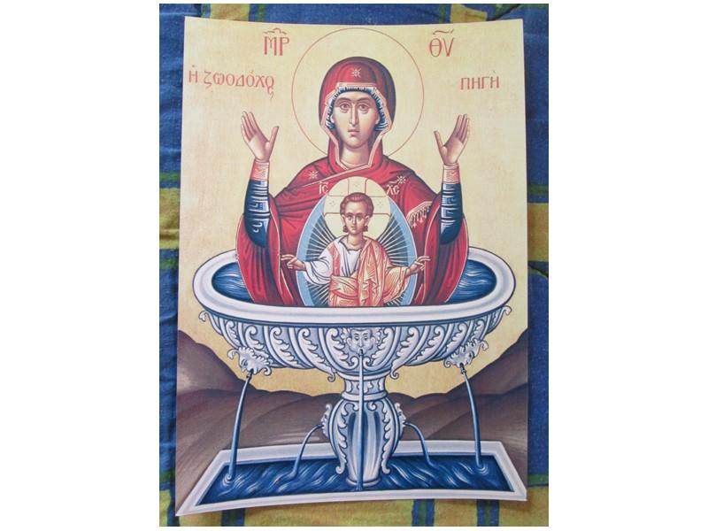 Bogorodica `Zivonosni Istocnik`