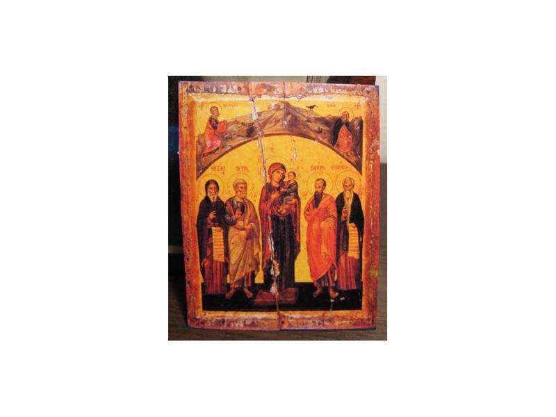 Bogorodica sa Sv.ap. Petrom i Pavlom i Sv.Antonijem i J