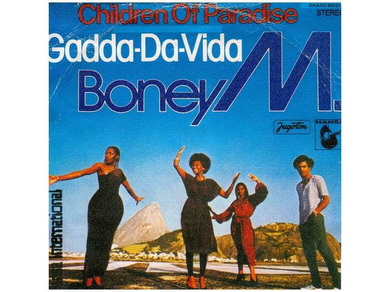 Boney M. - Children Of Paradise / Gadda-Da-Vida