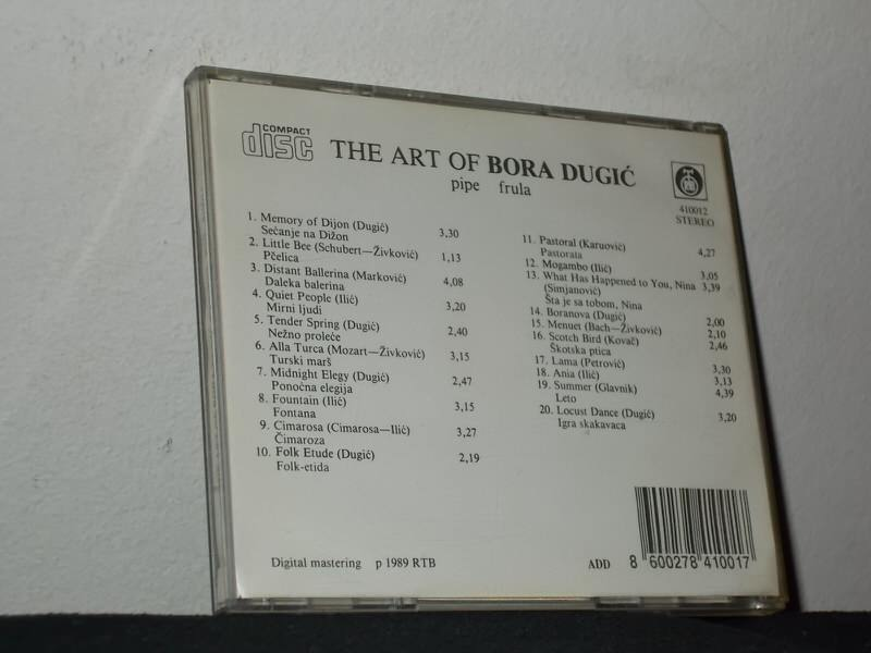 Bora Dugić - The Art Of (Pipe)