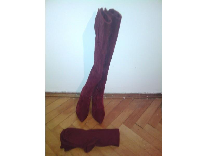 Bordo čizme