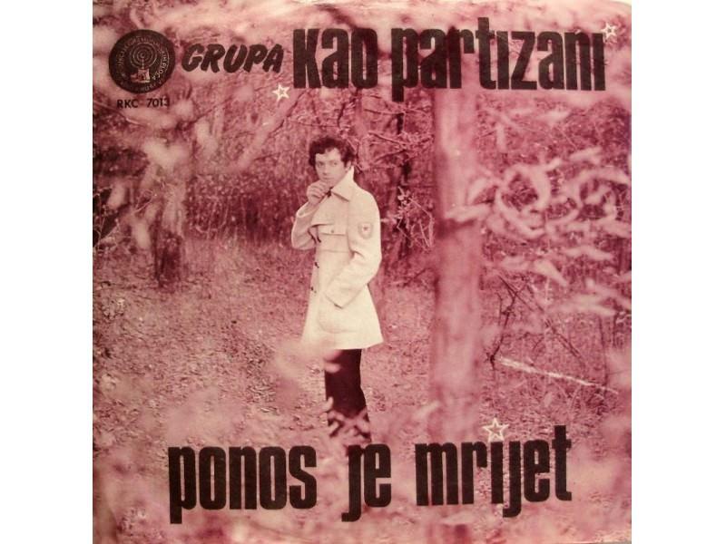 Boris Bizetić -Ponos Je Mrijet / Lepo Stoji Partizanska