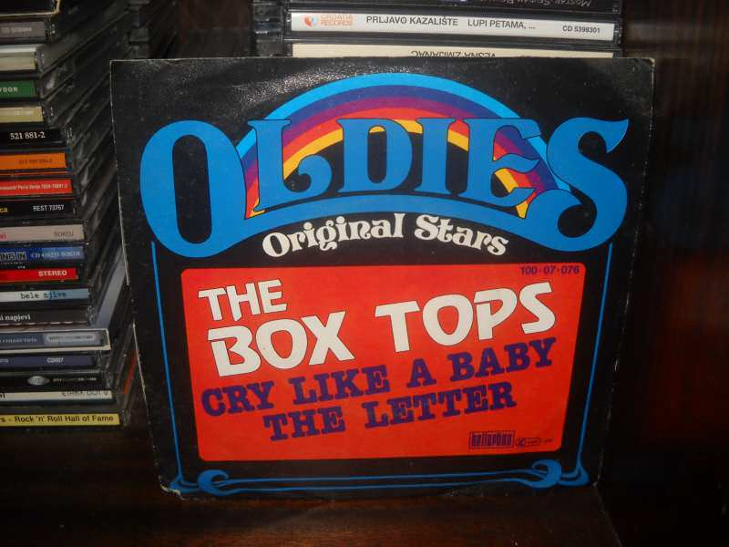 Box Tops - Cry Like A Baby / The Letter