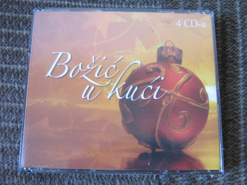 Bozić u kući (Various  Artists) 4xCD