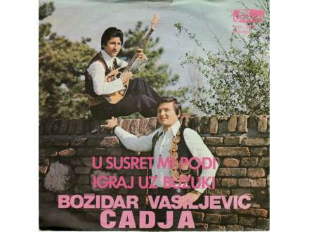 Božidar Vasiljević - U Susret Mi Pođi / Igraj Uz Buzuki