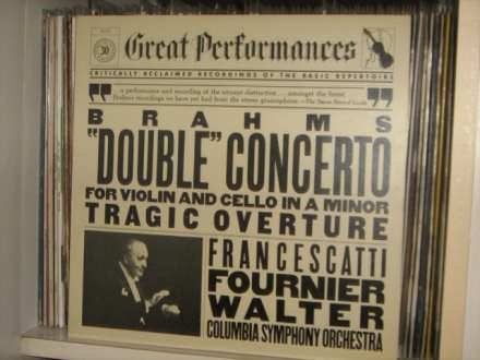 Brahms - `Double`Concerto For Violin And Cello In A Minor