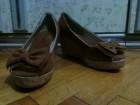 Braon sandale, br. 39.