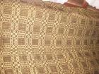 Braon -žuti vuneni cilim