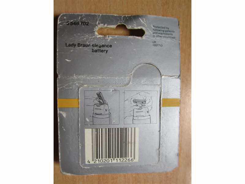 Braun 546 - novi noževi za Lady Braun Elegance battery