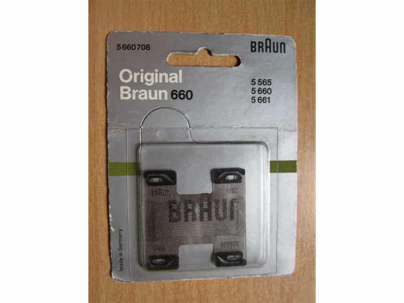 Braun 660 - nova mrežica