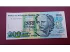 Brazil 200 Cruzeiros 2000 UNC