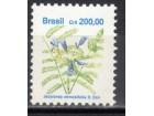 Brazil,Flora 1991.,čisto