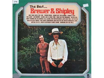 Brewer And Shipley - The Best . . . Brewer & Shipley