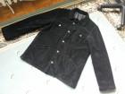 Brokat crna duza muska somot jakna vel.XL