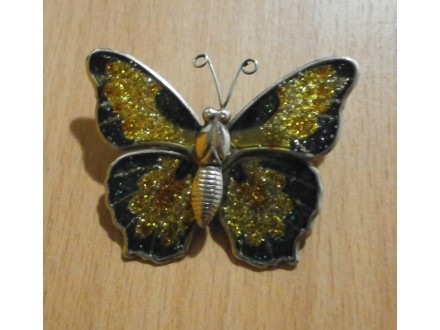 Broš leptirić