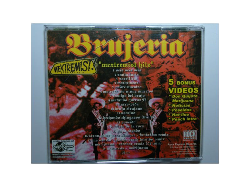 Brujeria - Mextremist! Greatest Hits